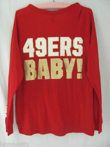 Victoria's Secret PINK San Francisco 49ers shirt