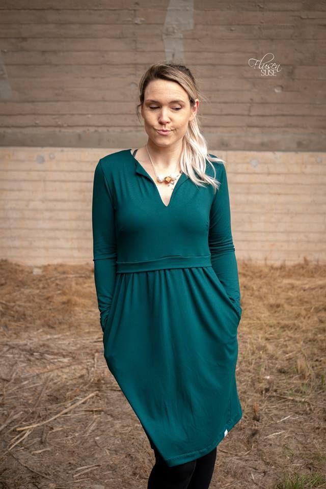 38198d813916 Elisabeth | Sommerkleid Schnittmuster für Damen | Nähen mit Jersey ...