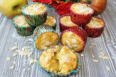 Di gotuje: Muffinki z jabłkami i olejem kokosowym (długa świe...
