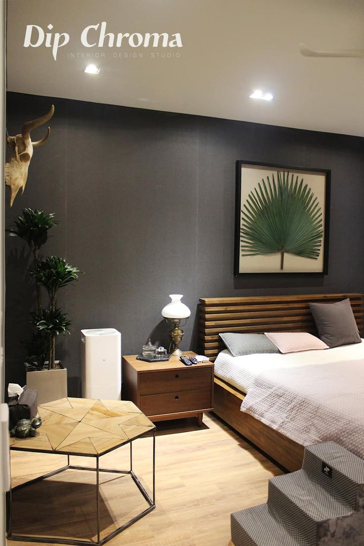 인테리어 디자인 아이디어, 내부 개조 & 리모델링 사진  침실