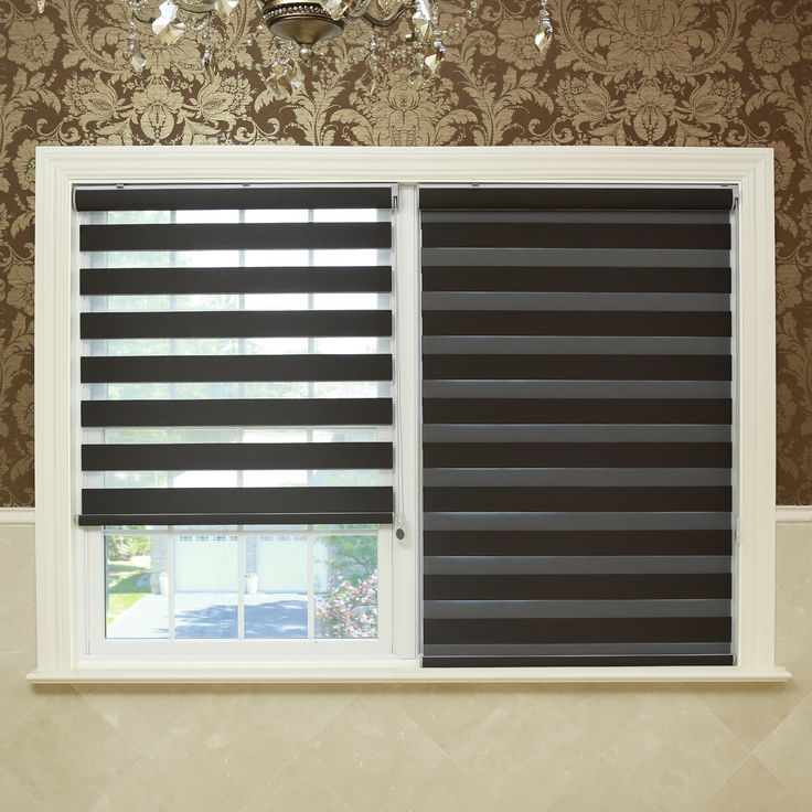 blackout window shades with side tracks best aurora home premium fabric chocolate duo shade wide brown polyester depot amazon
