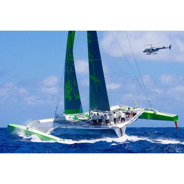 1000+ images about Multihulls on Pinterest | St barths, Sailing and Sailing boat