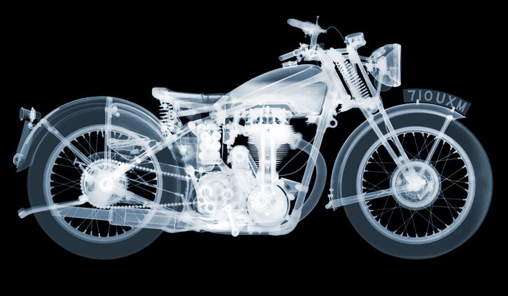 X-ray artist Nick Veasey has photographed guns, derby hats, and even entire cars.