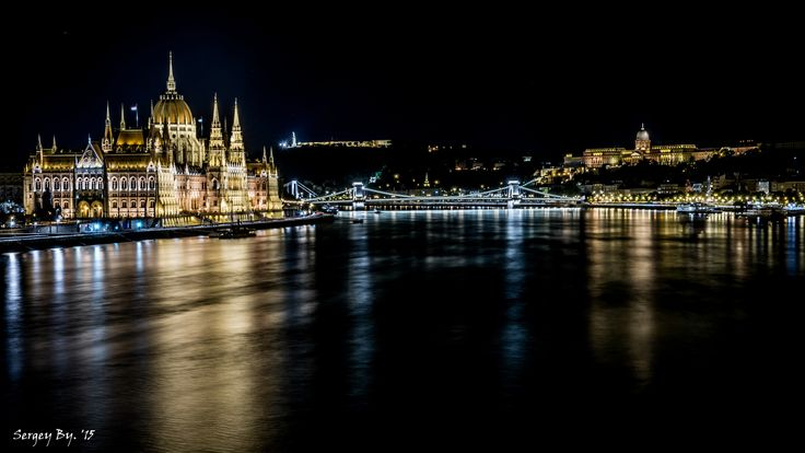 the Danube, Budapest -