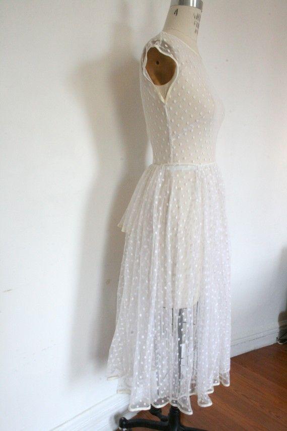66 best swiss dot images on pinterest swiss dot for Dotted swiss wedding dress