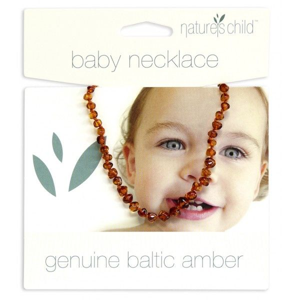Soothes, relaxes and calms baby.  Baltic Amber Teething Necklace $29.95
