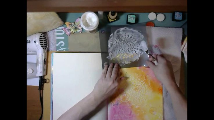 """""""Dare To Spread Your Wings"""" A Mixed Media Art Journal Process"""