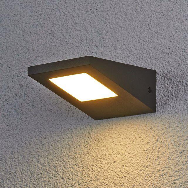 Applique d'extérieur LED Rommi IP54 LAMPENWELT : prix, avis & notation, livraison.  Applique d'extérieur LED RommiLargeur : 12,5 cmHauteur : 6,5 cmProfondeur : 15 cmPoids : kg