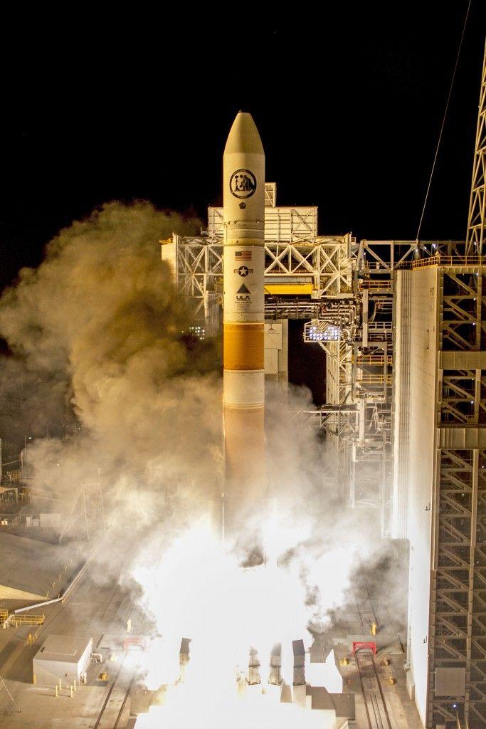 United Launch Alliance's Delta IV rocket has launched with the NROL-45 payload for the US National Reconnaissance Office on Wednesday morning. Liftoff, from Vandenberg Air Force Base in California, was on schedule at 03:40 local time (11:40 UTC), the opening of its launch window.