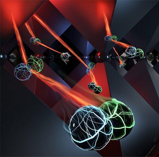 A confirmação deste fenômeno físico promete gerar grandes ganhos na eficiência das células solares e dos LEDs.
