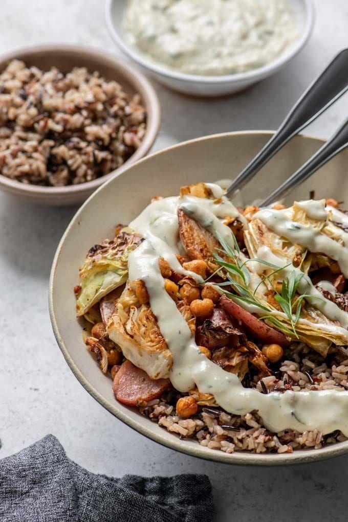 Vegan Sheet Pan Dinner  – Quick and Easy Vegan Dinners!