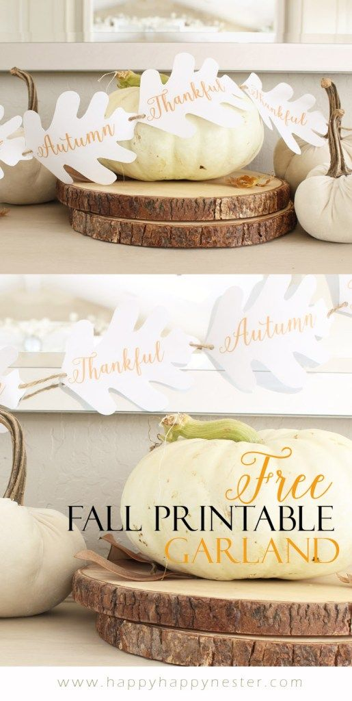 Free Fall Printable For Your Autumn Decor. Fall DecorationsSeasonal  DecorSeasonal FoodThanksgiving ...
