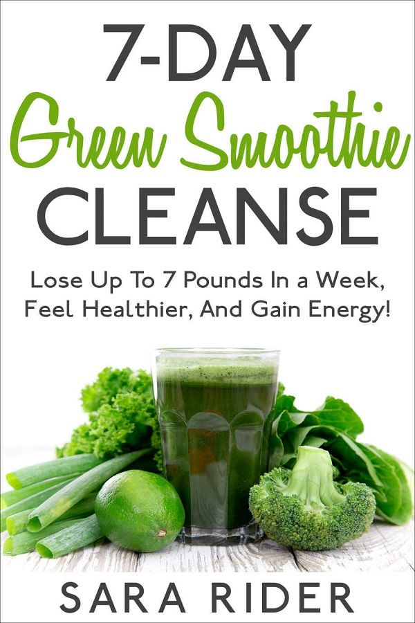 Green Smoothie Cleanse To Lose Up To 7 Pounds | Vegan Push