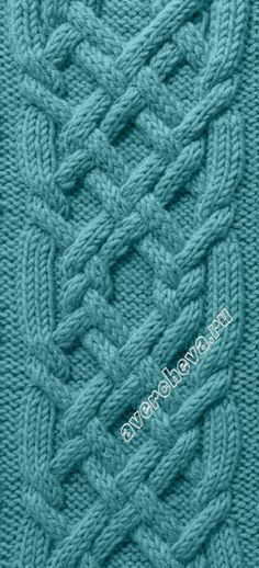 pattern/узор 631 - knitting stitch #cables