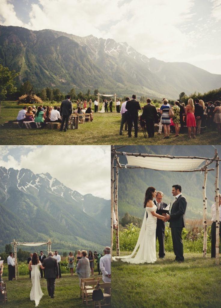 Pemberton North Arm Farm Wedding