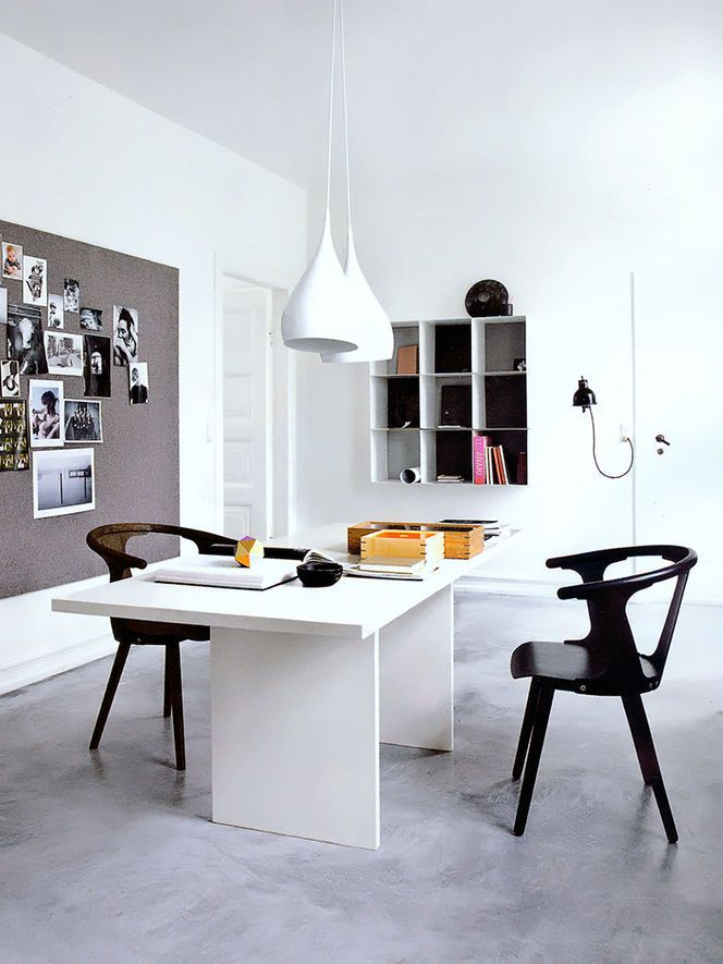 Modern and contemporary home office design