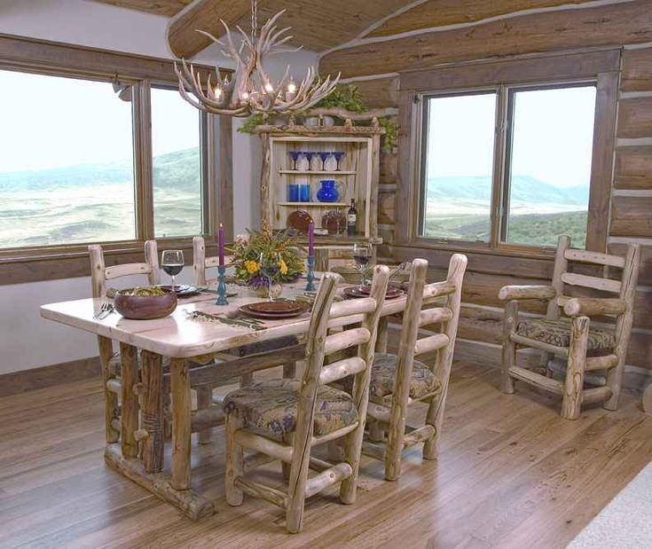 Log Kitchen Table: 1000+ Images About KITCHEN TABLES AND CHAIRS WITH WHEELS