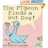 Oooh! A hot dog! Yummy! Yummy! Yummy! Favorite book Nov. 2011 The Pigeon Finds a Hot Dog by Mo Willems