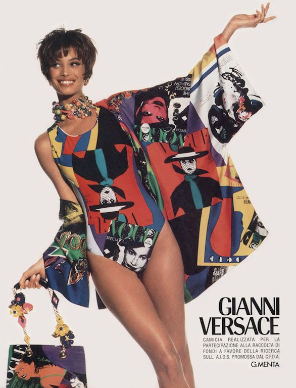 OLD VERSACE ADS