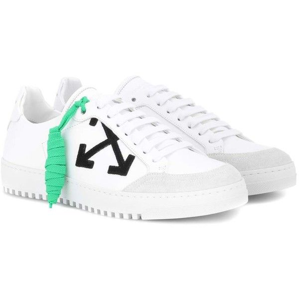 Off-White Carryover Leather Sneakers