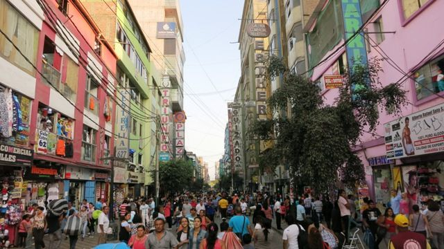 Introduction to Gamarra, Lima's massive informal garment district in La Victoria, with a history of the neighborhood and tips on how to find deals.