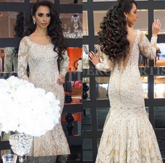 Here's a beautiful shot of our gorgeous model Jessica dressed in an exquisite nude gown designed by #Wellgroomedinc. This beautiful piece is detailed with resham and Swarovski embroidery.✨The possibilities of creating your dream outfit are endless at Wellgroomed! All of our pieces can be customized to meet your personal style (fit, colour, fabric etc) Email us at sales@wellgroomed.ca to set up a consultation in person or over the telephone/skype with one of our fashion consultants!