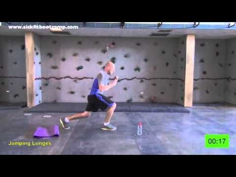 Fit In 15 #4 15 Min. Bodyweight Bootcamp Real Time Workout