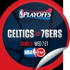Boston Celtics vs. Philadelphia 76ers #3