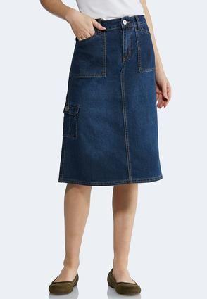 28892bdc1 Cargo Denim Skirt Denim Cato Fashions in 2019 | Fun style (jewelry ...