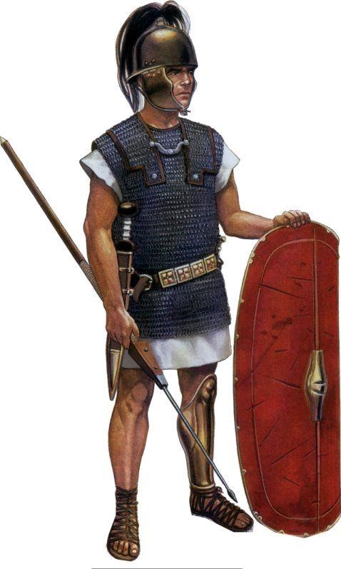 Римский легионер, I век до н.э.