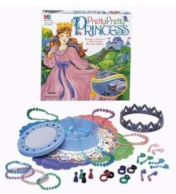 Pretty Pretty Princess. This was always my fav game! I always made my brother play with me!.