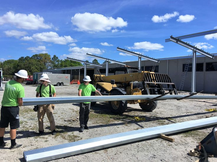 Have you heard the news? Wilmington's first solar carport has been raised by Cape Fear Solar Systems for the New York Forwarding Services Inc site located near the North Carolina State Port!  #solar #WilmingtonNC #carport #shade #summercoming