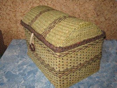Návody - TRUHLA :: Pletení z papíru Hanča Čápule