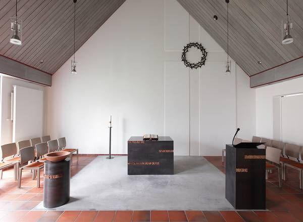 Martin-Luther-Haus in Kleinenbroich Neugestaltung Kirche