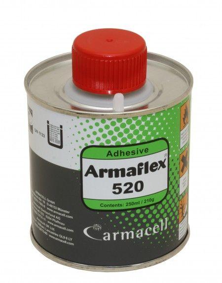 Kleber für Rohrisolierung PE, Kautschuk, Exzenterblock Pinseldose 250 ml