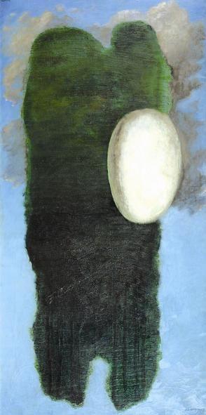 Josef Šíma: ML/ 1927 / olej na plátně / 140 x 70 cm cm
