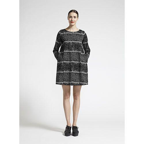 Marimekko Pärvö Black/White Dress