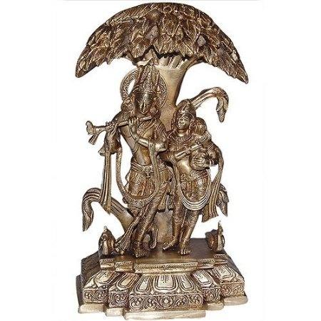 Amazon.com: Hindu God Religious Statue Lord Krishna and Radha: Home & Kitchen