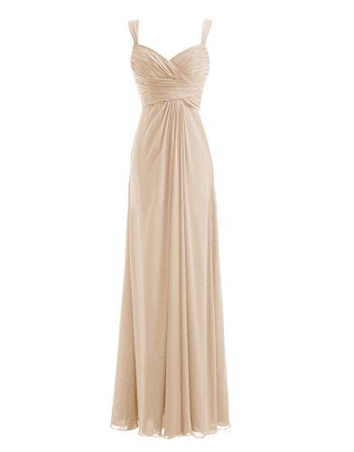 Diyouth Chiffon Spaghetti Straps Ruffles Long Bridesmaid Dress Champagne Size 14 Diyouth http://www.amazon.com/dp/B00LQN1S2Y/ref=cm_sw_r_pi_dp_CFk0tb15YV0DGYZQ