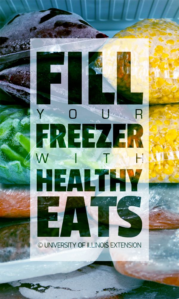 "Helpful ""how-to"" blog post about filling your freezer up with ""healthy eats"""