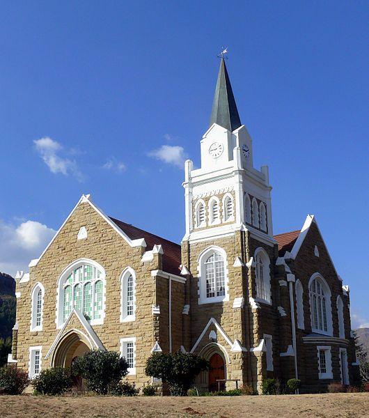 Kerkgebou van die NG gemeente Lady Grey-Dutch Reformed Church Lady Grey  Eastern Cape  South Africa
