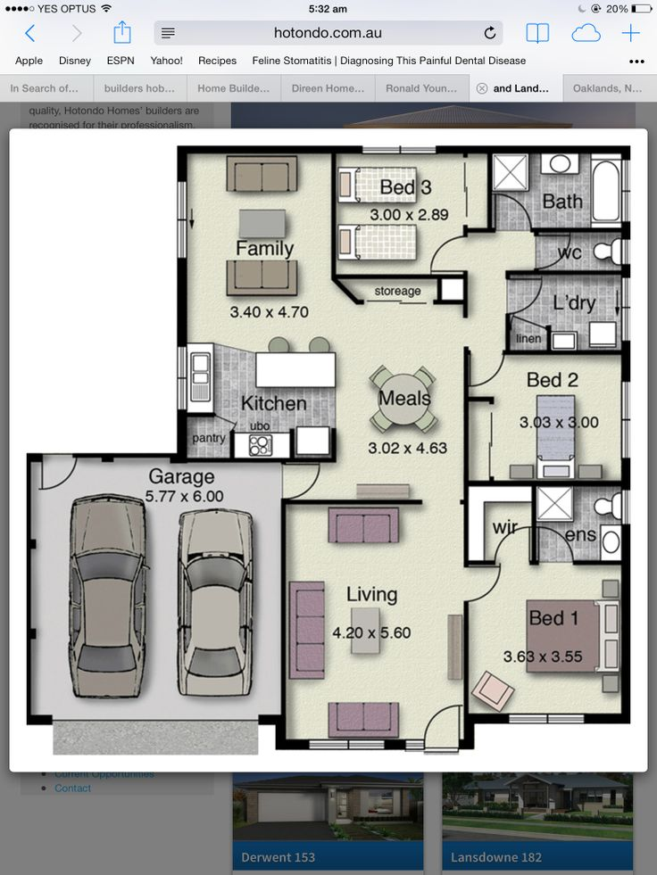 180 best house plans images on pinterest home ideas Garage into kitchen