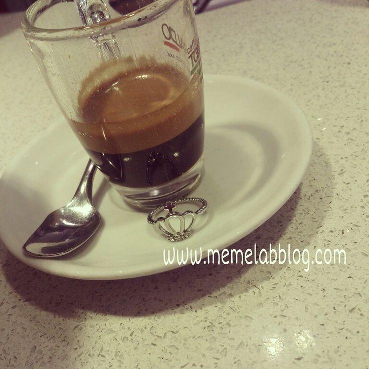 #caffè e nuova Collezione Anelli Corona www.memelabblog.com
