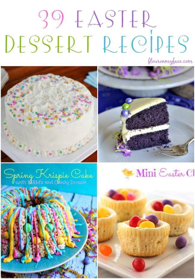 You are sure to find a perfect Easter treat or dessert recipe in this 39 Easter …   – Easter