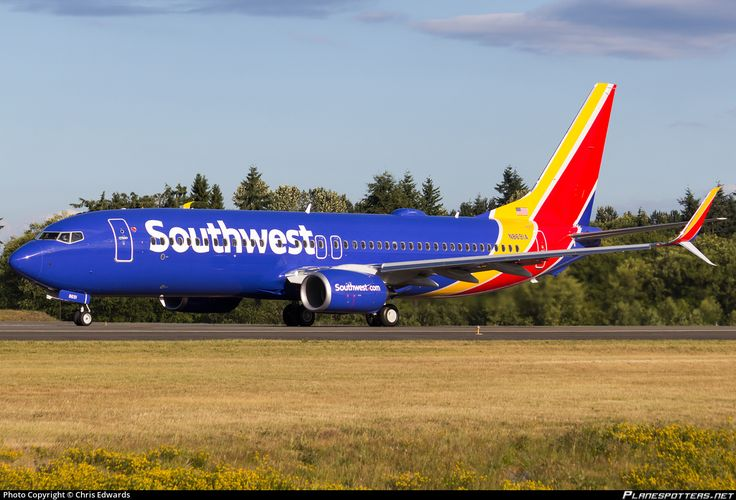 N8691A Southwest Airlines Boeing 737-8H4(WL) photographed at Everett - Snohomish County / Paine Field (PAE / KPAE) by Chris Edwards