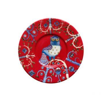 Iittala's Taika plate 15 cm, red