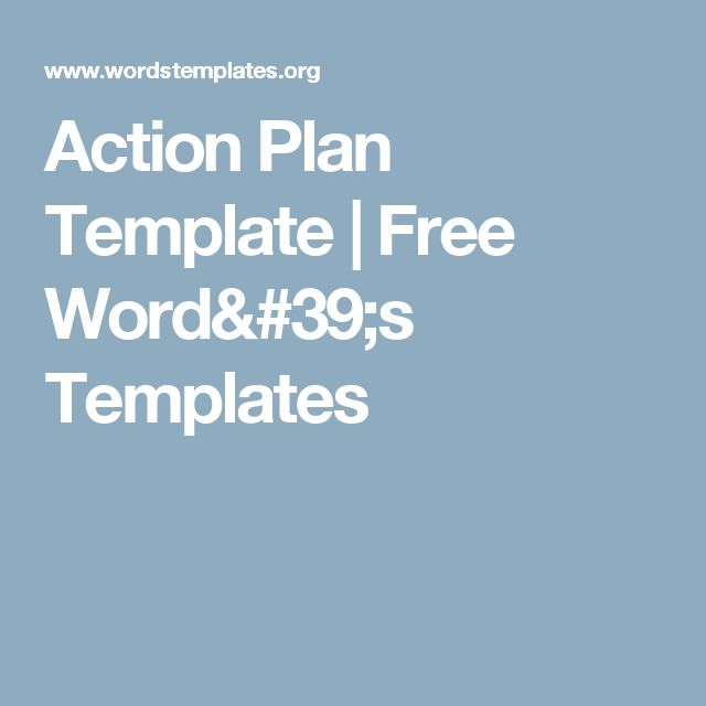 60 best Hot Topics images on Pinterest 60th birthday - action plan template for business
