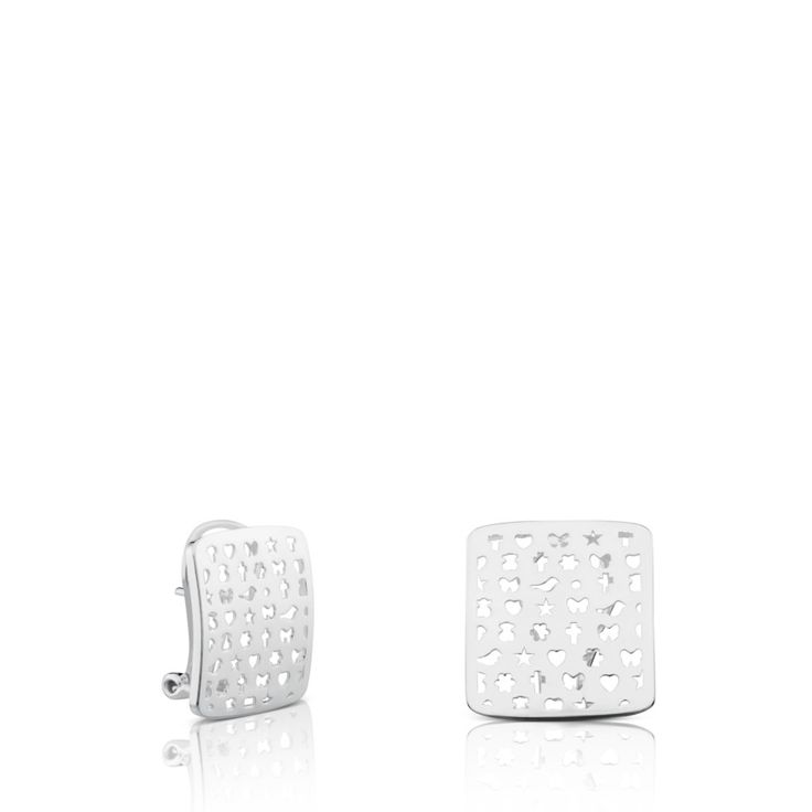 Kolczyki Tous Silver Mini Motif