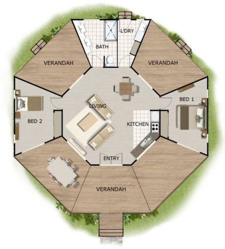 1830 sq feet or 170 m2   2 Bedroom   2 bed granny flat ...