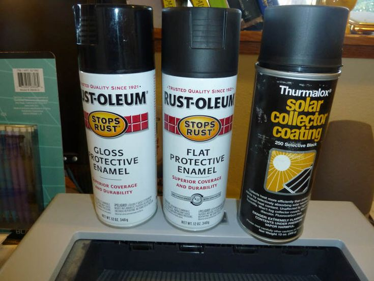 Best Solar Collector Absorber Paint
